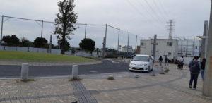 船橋アリーナへのアクセス(船橋日大前駅)