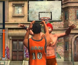 バスケットボールスターアプリのシュート