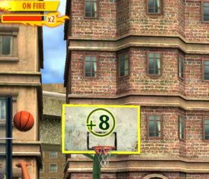バスケットボールスターアプリのShootingRace