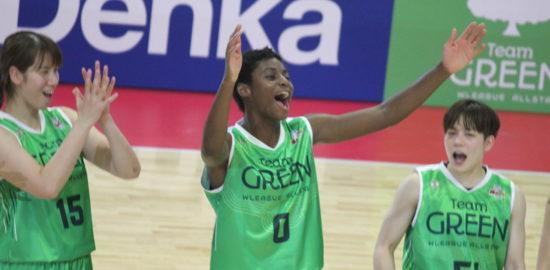 馬瓜エブリン(まうりえぶりん)選手は歌って踊れるバスケットボール選手!