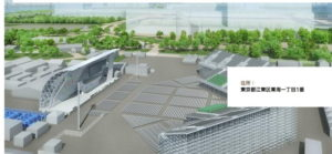青海アーバンスポーツパークの完成予想図