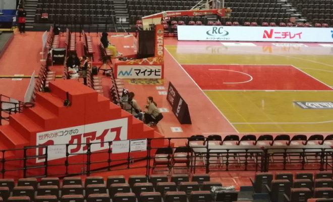 ロックアイス体育館(千葉ジェッツ専用練習場)の場所はどこ?八千代市らしい